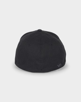 2 RVCA FLEX FIT Black R382568 RVCA