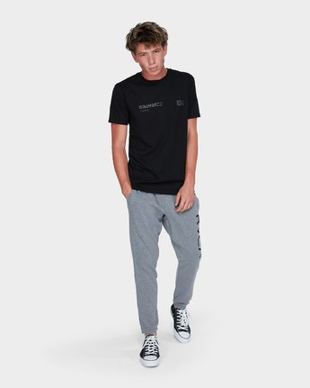 3 Balance Reflect T-Shirt Black R383053 RVCA