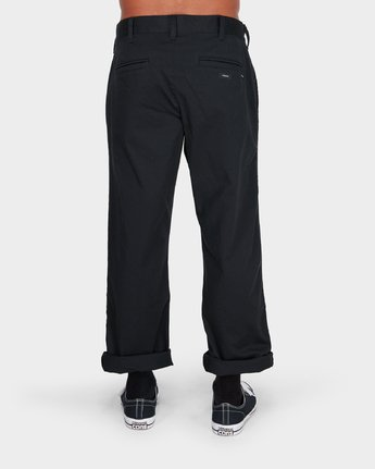 2 Weekend Stretch Pants Black R383273 RVCA