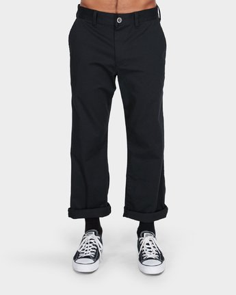 1 Weekend Stretch Pants Black R383273 RVCA