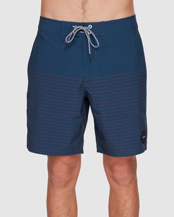 3 CURREN TRUNK Blue R383411 RVCA