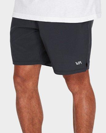3 Atg Short Black R384312 RVCA