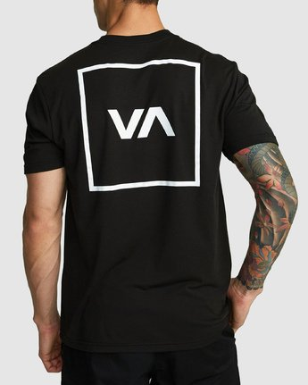 1 RVCA Box Short Sleeve Top Black R391046 RVCA