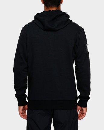 3 Sideline Hoodie Black R391152 RVCA