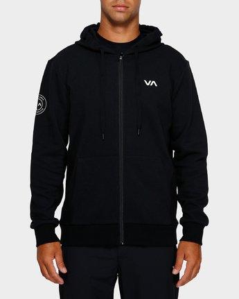 1 Sideline Hoodie Black R391152 RVCA