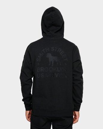 2 Smith Street Hoodie Black R391153 RVCA