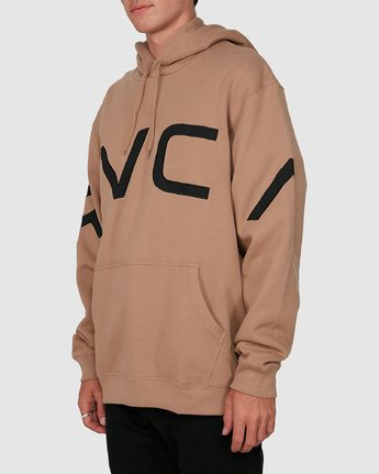 1 Fake Rvca Hoodie Beige R391155 RVCA