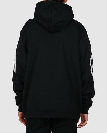 2 Fake Rvca Hoodie Black R391155 RVCA