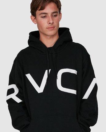 3 Fake Rvca Hoodie Black R391155 RVCA