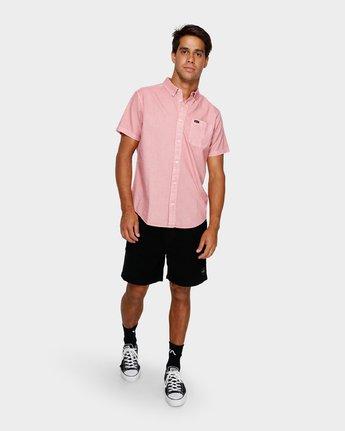 4 Thatll Butter Short Sleeve Pink R391183 RVCA