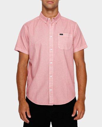 1 Thatll Butter Short Sleeve Pink R391183 RVCA