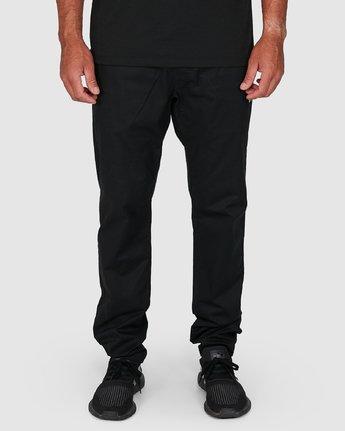 4 Spectrum Iil Pants Black R391274 RVCA