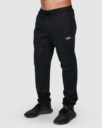 0 Spectrum Iil Pants Black R391274 RVCA