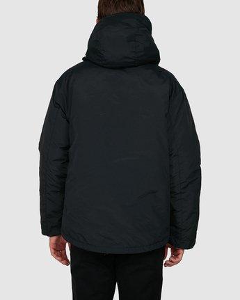 6 Rvca Puffa Jacket Black R391433 RVCA