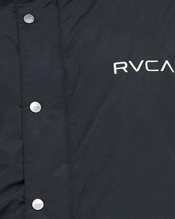 7 Rvca Puffa Jacket Black R391433 RVCA