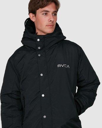 3 Rvca Puffa Jacket Black R391433 RVCA