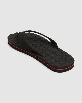 2 Astrodeck Sandal Black R391603 RVCA
