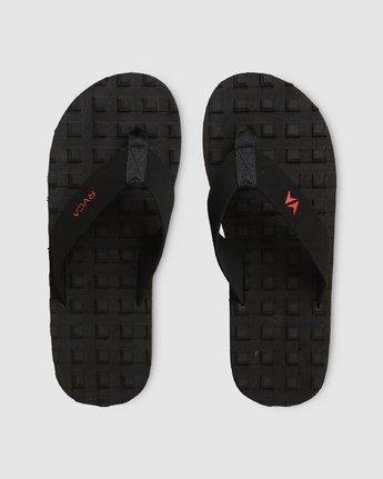0 Astrodeck Sandal Black R391603 RVCA