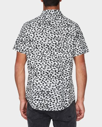 2 Gerrard Short Sleeve Shirt White R393181 RVCA