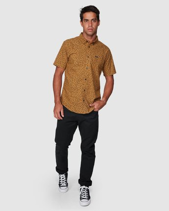 5 Thatll Do Print Short Sleeve Shirt  R393188 RVCA