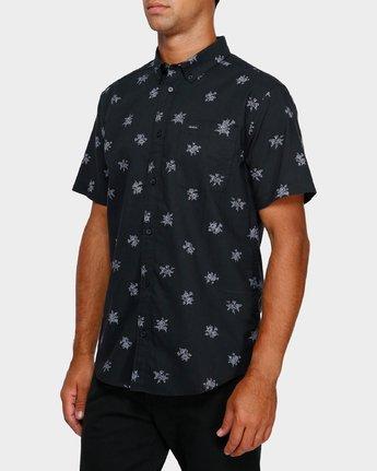 2 Thatll Do Print Short Sleeve Shirt Black R393188 RVCA