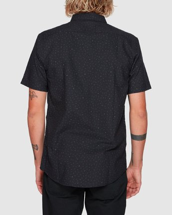 2 Thatll Do Print Short Sleeve Top Black R393188 RVCA