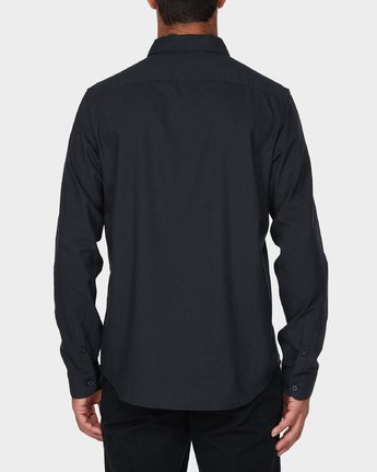 2 Thatll Do Stretch Long Sleeve Shirt Black R393198 RVCA