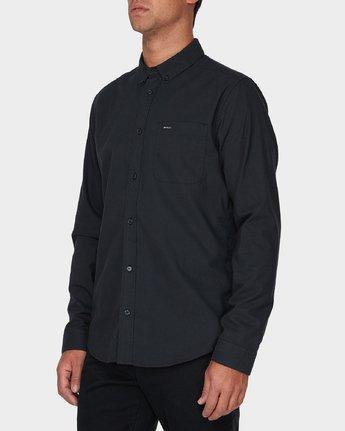 1 Thatll Do Stretch Long Sleeve Shirt Black R393198 RVCA