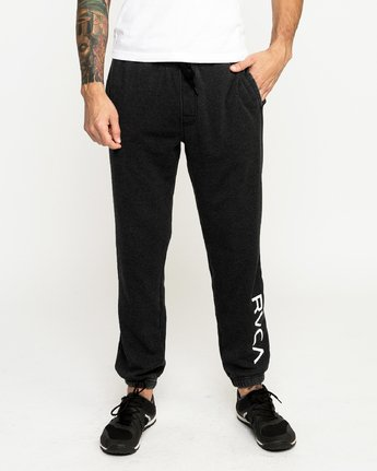 1 Cage Sweatpantshort Sleeve Pants Black R393276 RVCA