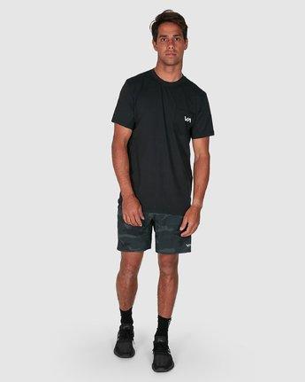 4 Yogger Stretch Short Camo R393313 RVCA