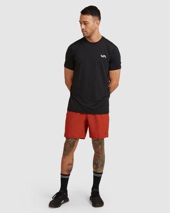 3 Yogger Stretch Short Multicolor R393313 RVCA