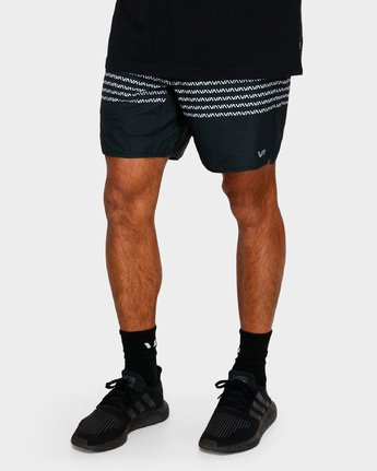 6 YOGGER STRETCH SHORTS Black R393313 RVCA