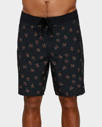 1 VA Trunk Print Black R393410 RVCA