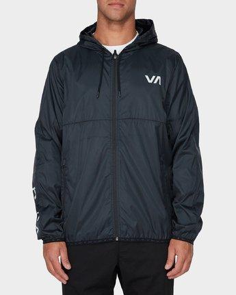 0 Hexstop Iv Jacket Black R393436 RVCA
