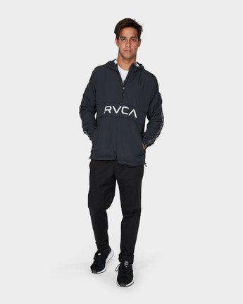 3 Adapter Anorak Jacket Black R393439 RVCA
