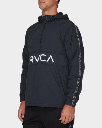 1 Adapter Anorak Jacket Black R393439 RVCA