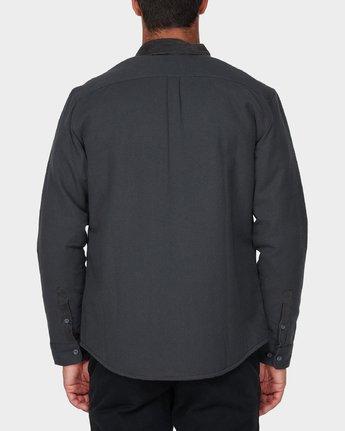2 Victory Long Sleeve Shirt Black R393441 RVCA