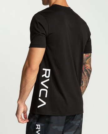 1 Pin Down Short Sleeve Black R394041 RVCA