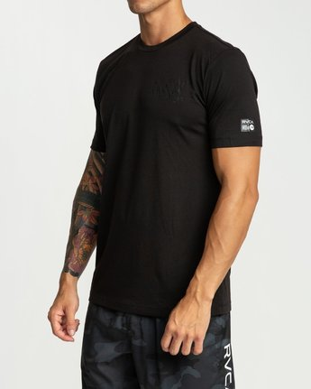 1 Defer Chest Short Sleeve Black R394045 RVCA