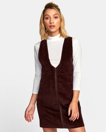 North - Corduroy Jumper Dress for Women  R3DRRARVW9