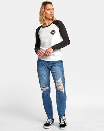 4 Ben Venom Tiger - Raglan T-Shirt for Women White R3LSRARVW9 RVCA