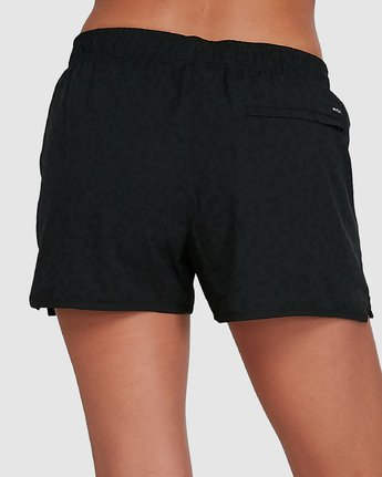 4 Womens Yogger Stretch Short Black R405313 RVCA