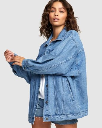 LOUNGER DENIM JACKET  R405400