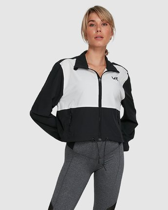 WOVEN TRACK JACKET  R405435