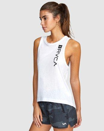 1 Va Muscle Top White R405703 RVCA