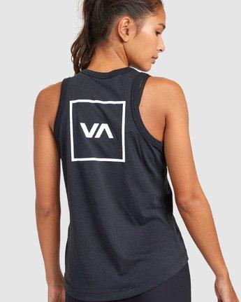 1 Va Muscle Top Black R405703 RVCA