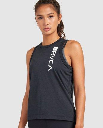 0 Va Muscle Top Black R405703 RVCA