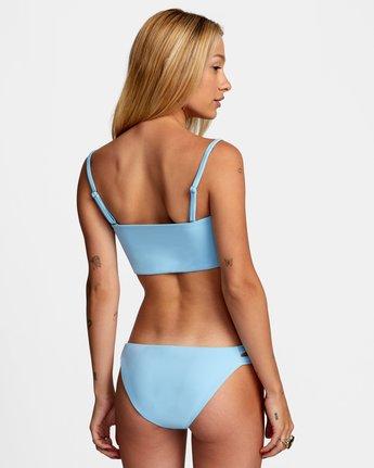 0 Solid Full Bikini Bottom Blue R406861 RVCA