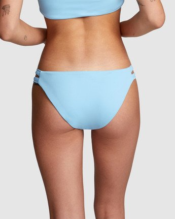 1 Solid Full Bikini Bottom Blue R406861 RVCA