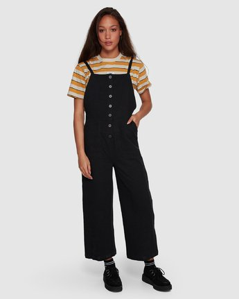 0 Shoutout Jumpsuit Black R407752 RVCA